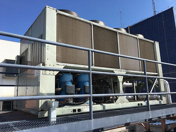 Sistema de Ar Condicionado Central - Centro Cirúrgico do Hospital Santa Lúcia - Northec Engenharia - Brasília/DF