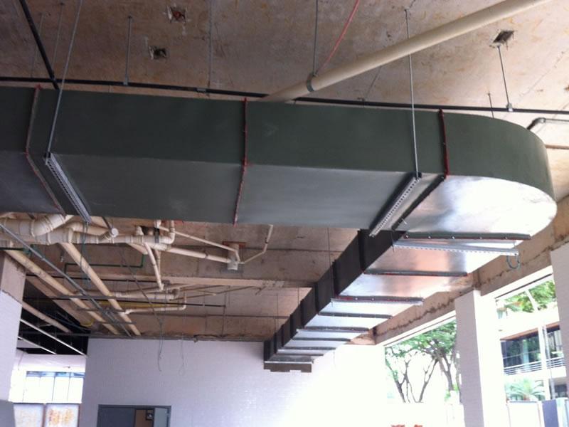 Cozinhas Profissionais - Dutos em Chapa Aço-Carbono | Northec Engenharia - Brasília/DF