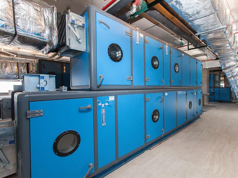 Ar Condicionado Central (Chiller) - Unidades de Tratamento de Ar | Northec Engenharia - Brasília/DF