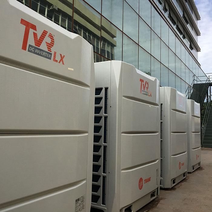 Instalação de Central de Ar Condicionado (VRF)